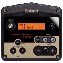 Módulo Roland Trigger Tm2 Para Bateria Eletrônica E Acústica