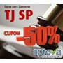 Curso Tj Sp 2015 - Cupom 50%off - Preparatorio Aprova Concur