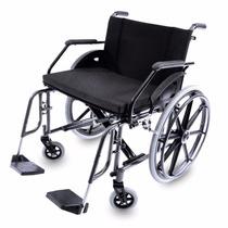 Cadeira De Rodas Dobrável Obeso P/ 160kg Desmontável
