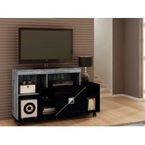 Rack Clip 1,20m Bancada Para Sala De Estar Tv - Dj Móveis