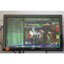 Multijogos 32 Pol 40000 Jogos Mame Arcade Neogeo Fliperama