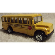 Maisto Fresh Metal: Ônibus School Bus District 2 - 039 1/64