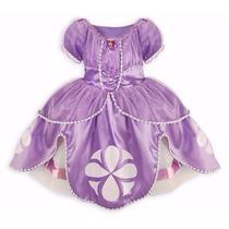 Fantasia Princesa Sofia Vestido Pronta Entrega