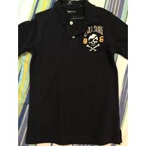 Camisa Polo Gap Infantil Masculina Com Caveira Tam 4/5 Anos
