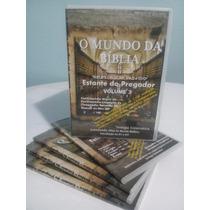 O Mundo Da Bíblia 4 Dvd + 4.200 Arquivos - Teologia