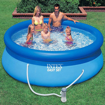 Piscina Inflável Easy Set Intex 3.853 L - 305 + Filtro 220v