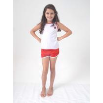 Pijama Juvenil - Time De Futebol 8 10 12 Anos Menino/menina