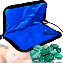 Kit Para Massagem Com Pedras Quentes Com Aquecedor 110 Volts