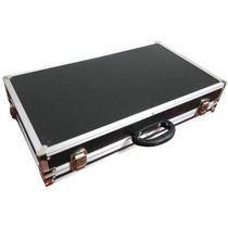 Hard Case P/ Pedais Pedaleiras Boss Line6 Gt10 Zoom Vox Pod