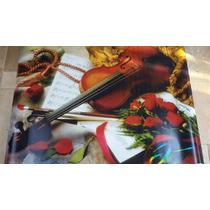 Adesivo De Parede Tema Música Violino Altíssima Qualidade