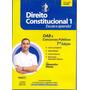 Cd Lacrado Audio Livro Direito Constitucional 1 Escute E Apr
