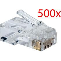 Conector Rj 45 Pacote 500 Peças