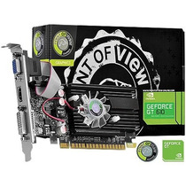 Placa De Video Geforce Gt 610 1gb Ddr3 64 Bits Pov