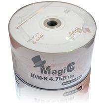 100 Midia Dvd-r Virgem C/logo 8x/16x 4.7gb Várias Marcas