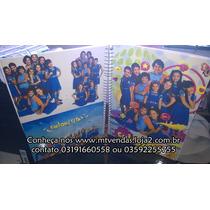 Caderno De Anotações Chiquititas Com Adesivos