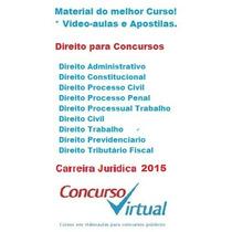 Carreira Juridica 2015 - Direito Para Concursos