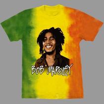 Camiseta Bob Marley Stamp Reggae G Crazzy Store
