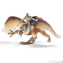 Cavaleiro Griffin Com Aguia 70107 Boneco Alemao Schleich