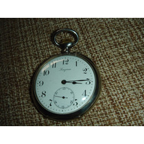 Relógio Bolso Antigo Longines Prata 875 ** 12 Medalhas **