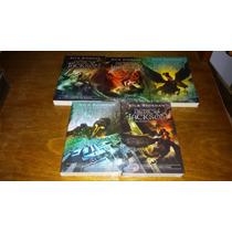 Kit Livros - Coleção Percy Jackson 5 Volumes - Novas Capas