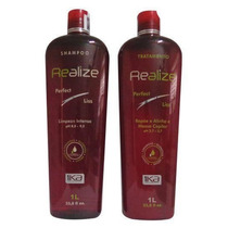 Hair Profissional Realize Kit Selagem Térmica 2x1000ml 1