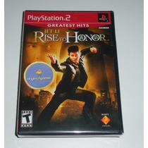 Jet Li Rise To Honor | Ação | Jogo Playstation 2 | Original