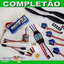 Super Kit Combo Turnigy D2836/8 Brushless Avião - Aeromodelo