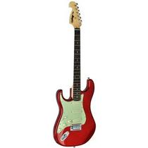 Guitarra Canhota Tagima Memphis New Mg32 Strato - Vermelha
