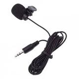 Microfone De Lapela P2 Stéreo Profissional Youtubers Sucesso
