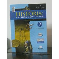 História Cultura Sociedade Vol 2 Jean Moreno Livro Professor