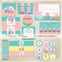 Arte Digital Kit Festa Peppa Pig Personalizada