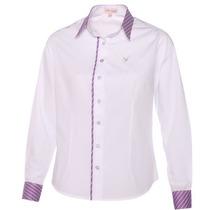 Camisas Sociais Femininas Pimenta Rosada + De 50 Modelos