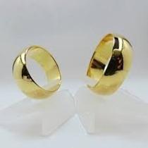 Par De Alianças 8mm Para Casamento Noivado Moedas Antigas
