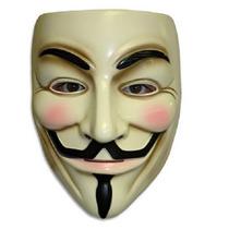 Máscara V De Vingança Anonymous Guy Fawkes À Pronta Entrega