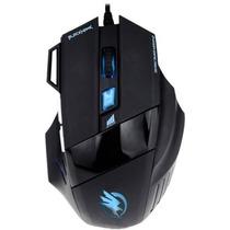 Mouse Gamer Fortrek Black Hawk Om703 - 2400dpi 7 Botões Usb