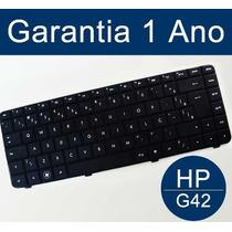 Teclado Hp G42 Compaq Cq42 Aeax1600110 V112246ar1 Br Ax1 Ç
