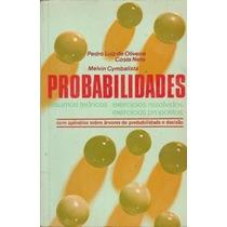 Probabilidades Pedro Luiz De Oliveira Costa E Melvin Cymbals