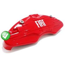 Capa Para Pastilha Pinça De Freio - Fiat Vermelha Promoção