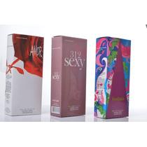 Kit 05 Perfumes 55ml Cada Com Registro Anvisa E Nota Fiscal