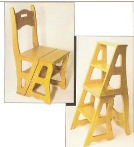 Comprar Projeto Marcenaria Kit Cadeira Vira Escada Mesa
