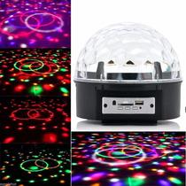 Iluminação Skyshow Bola Maluca Várias Luzes Led Holográfico