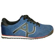 Tenis Armani Jeans Azul E Preto