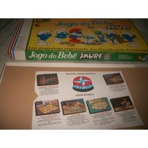 Jogo Bebe Smurfy Anos 80,rarissimo,impecavel,unico No Ml