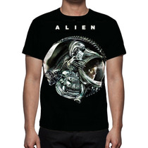 Camisa, Camiseta Filme Alien - Estampa Total