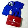 Camisa Polo Masc. S&f Azul Bic Original Qualid. De Importada