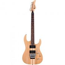 Guitarra Eagle Egt-61 Stnt Natural Special Neck - Refinado