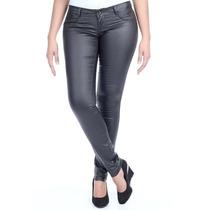 Calça Sawary Legging Jeans Resinada Com Elastano Pit Bull