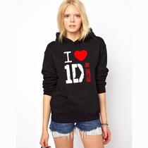 Blusa I Love 1d - One Direction Moletom Canguru - Promoção!