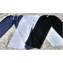 Calça, Elástico,brim,uniforme,4 Bolsos,jaleco, Trabalho, Cor