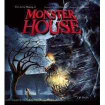 Livro Em Inglês - The Art And Making Of Monster House